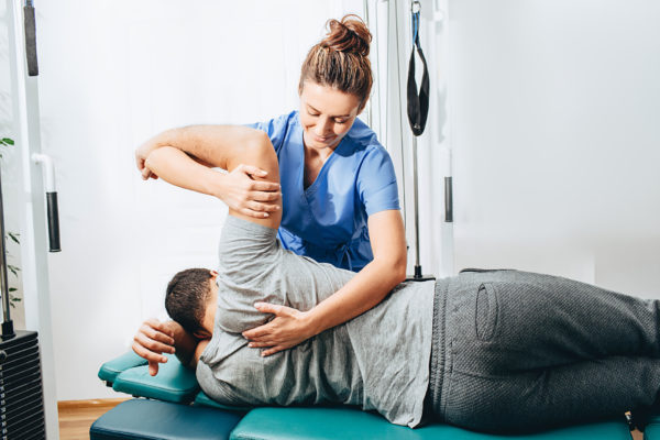 your body with OSTEOPATHY